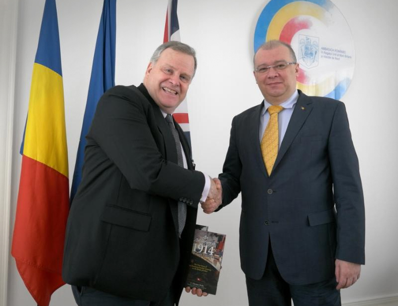 CRK with Romanian Ambassador to UK