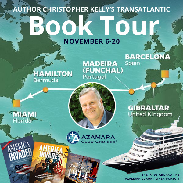 Meet Christopher Kelly on the Azamara Western Pursuit Voyage